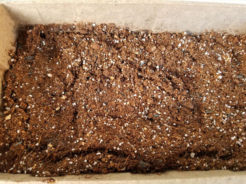 草刈り後の草を堆肥として再利用する